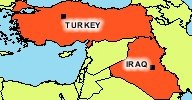 turkey iraq