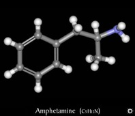 Chemicals Amphetamines Images Archive Amphetamine 3D Mid