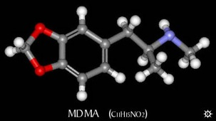 Chemicals Mdma Images Archive Mdma 3D Mid